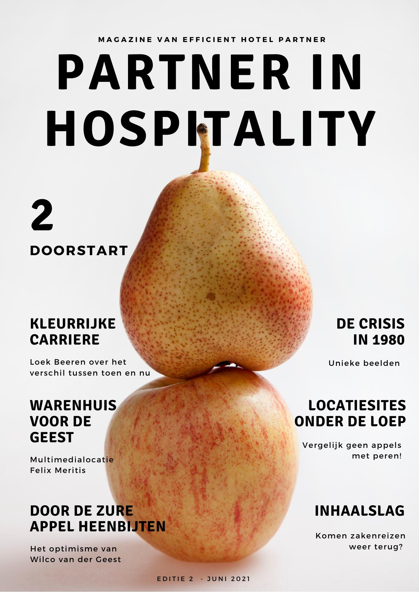 Partner in Hospitality | Magazine van Efficient Hotel Partner