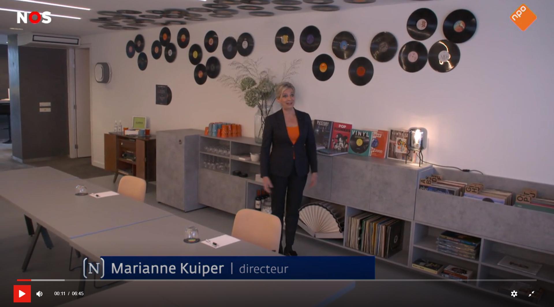 Nieuwsuur   Leidinggeven in de coronacrisis   Efficient Hotel Partner   Music Meeting Lounge   Marianne Kuiper  